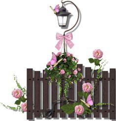 fences & lamp