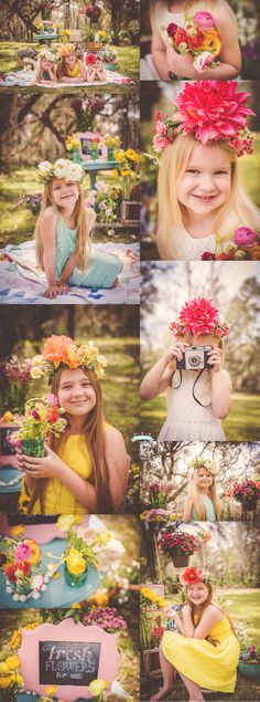 Flower Market Mini Session by Tara Merkler Photography in Central Florida