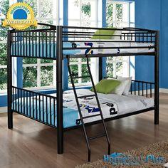 Heavy Metal Black full Over Full bunk Bed.  $616.00