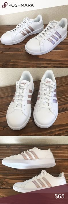 sale retailer 68068 e1402 NEW Size 9 Adidas Rose Gold Sneakers Brand new!!!! But threw box