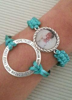 Armband met foto 20 mm Bracelet personal photo