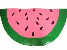 Watermelon Sit-Upon