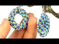 Earrings with quilling strips. Link download: http://www.getlinkyoutube.com/watch?v=iinxrvahJMw