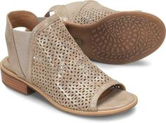 e93c3867cd02 Sofft Shoes Nalda Perforated Sandals in Anthracite SF0002108-ANTH   sofftshoes Sofft Shoes