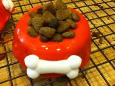 Carob Dog Bowl Pupcake