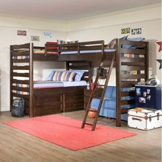 diy bunkbeds look like legos - Google Search