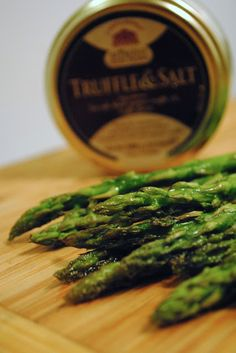 Roasted Asparagus with Lemon and Garlic: Culinary Adventures with Camilla