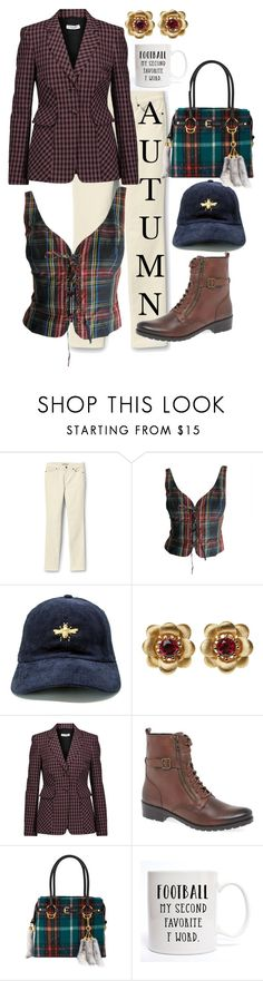 """Autumn Contest"" by sixtystyle on Polyvore featuring Lands' End, Moschino, La Perla, Altuzarra, Caprice, Miu Miu, autumn, fashionset, polyvorecontest and fall2017"
