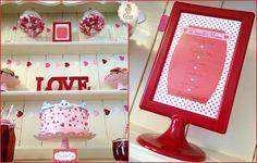 Valentine's Day Dessert Table! ❤️