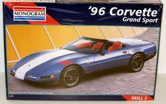 1996 Corvette Grand Sport Monogram Revell #85-2452 1/24 Scale New Model Kit