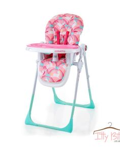Cosatto Noodle Supa Magic Unicorns high chair is the compact classic feeding chair with easy-wean, easy-clean, helpful ways. Make life a breeze with this folding high chair hero. Baby Doll Nursery, Baby Doll Toys, My Babiie, Baby Doll Strollers, Travel Systems For Baby, Baby Boutique Clothing, Highchair Cover, Baby Unicorn, Baby Grows