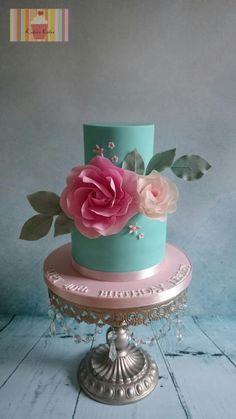 40th Birthday by Kokoro Cakes by Kyoko Grussu
