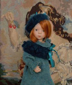"""""""Douceur de Paon"""" Tuto tricot, 3 pièces en PDF, pour poupée de 27 à 34 cm type Les Chéries de Corolle ou Minouche de Petitcollin : Jeux, jouets par minacouture"""