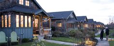 Salish Pond Cottages | Ross Chapin Architects