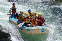 Zephyr White Water Rafting on the Merced river. Between Mariposa & Yosemite.