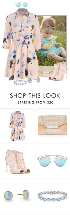 """Samantha_585"" by samanthaos ❤ liked on Polyvore featuring Dolce&Gabbana, Christian Dior, Marco Bicego and Belk & Co."
