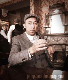 #peakyblinders #tweed #flatcap #pub #beer #waistcoat #birmingham #vintage #rollup #cigarette