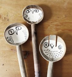 spoons by Hazel Terry, DIY inspiration