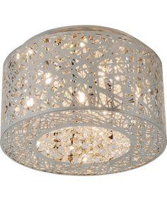 Bird nest light fixture