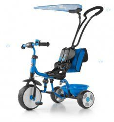 Rowerek trójkołowy Boby Deluxe niebieski