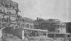 La Facultad de Filosofía y Letras en 1939, tras los combates en la Ciudad…