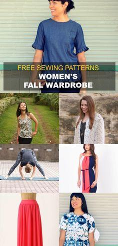 FREE PATTERN ALERT: Women's Fall wardrobe project:…
