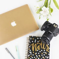 GIVEAWAY TIME!!! You can have a chance to win a Gold Macbook Air and a Canon Rebel Kit. Both!! Find the details in our recent blog! #giveaway