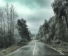 Ice storm makes North Georgia look something out of an apocalypse movie.