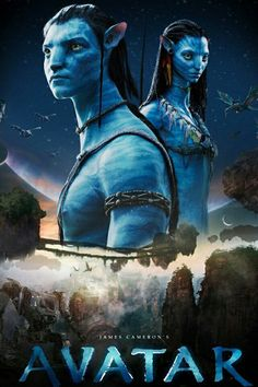 Avatar Poster Collection: Exciting Posters For The Sci-Fi Lovers! Avatar Movie Cast, Avatar 2 Full Movie, Avatar Films, Avatar Poster, Avatar Characters, Avatar James Cameron, Free Poster Printables, Romantic Couples, Vintage Posters