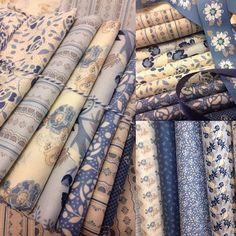 What a beautiful bundle of @suedaleydesigns Forget me Not! What would you make with this fabric? Thank you so much @northernquilts ❤️ #pennyrosefabrics #ilovepennyrose #quilting