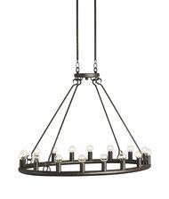 Currey and Company 9812 Wilford 37 Inch Chandelier