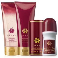 Passionate. Opulent. Exotic. Imari...enter its garden and surround yourself with Oriental florals blooming luxuriously. A warm, sensual scent blossoming with incense, musk and alluring hints of spice. A $24 value, the set includes: Shower Gel – 6.7 fl. oz. An $8.50 value. Body Lotion – 6.7 fl. oz. An $8 value. Body Powder – 1.4 oz. net wt. A $5.50 value. Bonus Size Roll-On Anti-Perspirant Deodorant – 2.6 fl. oz. A $1.99 value