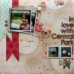 Inspiration du Jour   In Love With Central Park · Scrapbooking   CraftGossip.com