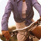 Cardio Workout - Stationary Biking Intervals