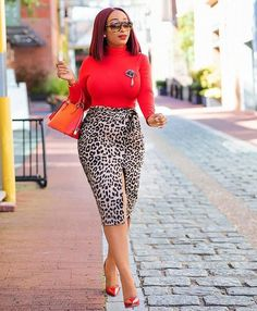 Office wear typically involves an uninspiring color scheme of strong colors. Mak Work Fashion for Women Classy Dress, Classy Outfits, Chic Outfits, Fashion Outfits, Womens Fashion, Workwear Fashion, Fashion Blogs, Fashion Trends, African Fashion Dresses
