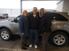 Donta Gee and the rest of us here at Court Street Ford would like to say congratulations to Bruce and Mary Hartman of Bourbonnais on the purchase of their 2014 Ford Edge. Thank you for your business!
