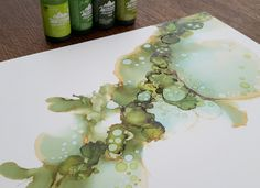 Ramblings of an avid card maker. Alcohol Ink Glass, Alcohol Ink Crafts, Alcohol Ink Painting, Distress Ink Techniques, Artist Supplies, Ink In Water, Card Making Tutorials, Card Maker, Ink Paintings