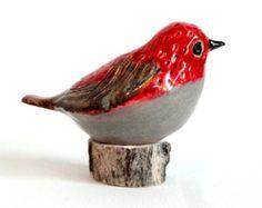 uccello di ceramica di ecorock su Etsy