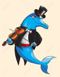 Image result for dolphin dressed
