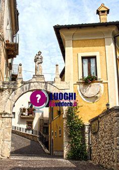 A #Pettorano sul #Gizio tra palazzi signorili, torrioni e fontane monumentali | #Abruzzo #borghi #Italia #viaggi #travel |   www.luoghidavedere.it