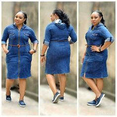 Classic jeans Turkey gown for ladies who love fashion. Size DM or WhatsApp 08034361942 for enquiries and to place your order. Jeans Gown, Demin Dress, Fat Girl Fashion, Love Fashion, Stylish Outfits, Fashion Outfits, Modest Fashion, Dress Outfits, English Dress