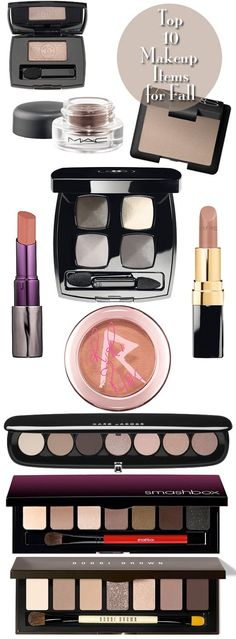 My favorite makeup items for Fall