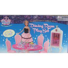 amazoncom barbie size dollhouse furniture blue sea mermaid princess palace dining room amazoncom barbie size dollhouse