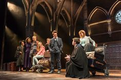 Harry Potter and the Cursed Child - beautiful prod photos; excited to read the script!