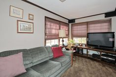 Family Room with Built-in Entertainment Console