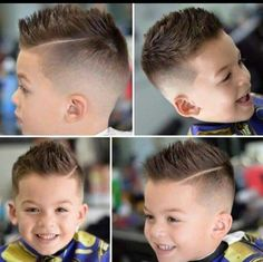 Image result for little boy haircuts for thin hair and double crown