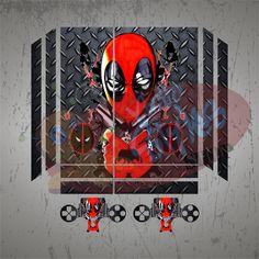 Vinilo Skin para PS4 Deadpool