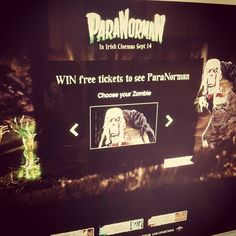 Ach! Zombies! ParaNorman Facebook engagement campaign to launch shorty.