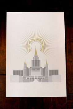 """Oakland, California LDS Temple 13x19 print    Remeber to also check out: MormonFavorites.com  - MormonFavorites.com  """"I cannot believe how many LDS resources I found... It's about time someone thought of this!""""   - MormonFavorites.com"""
