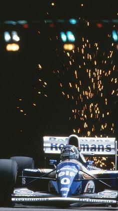 Damon Hill, Williams F1, F 1, Formula One, Ayrton Senna